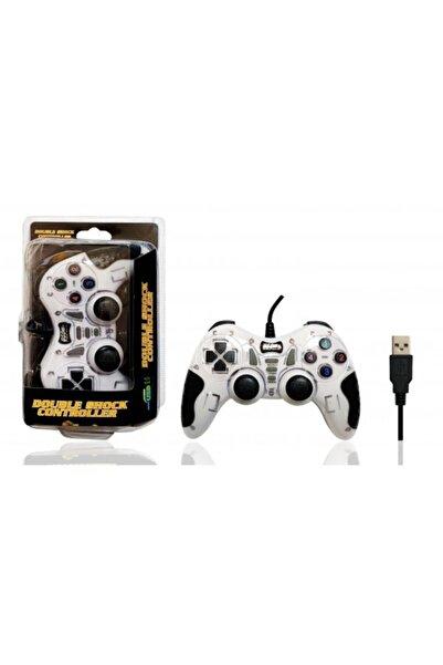 Platoon Pl-2585 Double Shock Controller Usb Game Pad Oyun Kolu Pc 42365437