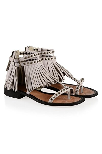 Nursace Hakiki Deri Sandalet Nsc16y-a08237