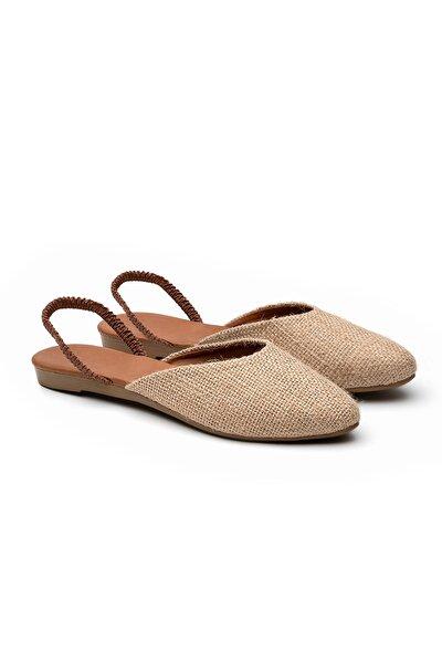 OCT Shoes Kadın Hasır Sandalet TS1044