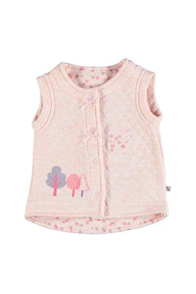 Bibaby Kız Bebek Pembe Pink Elephant Yelek