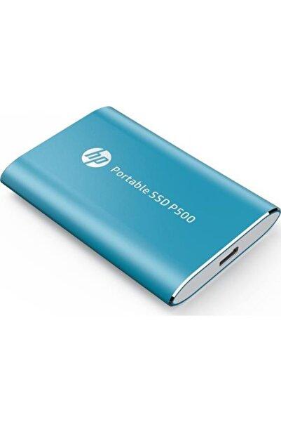 HP 250gb P500 Portable Ssd -blue