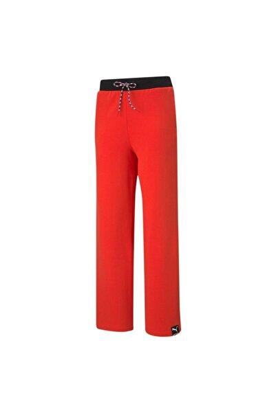Puma Kadın Günlük Eşofman Altı Pı Wide Leg Pants Poppy Red 59970523