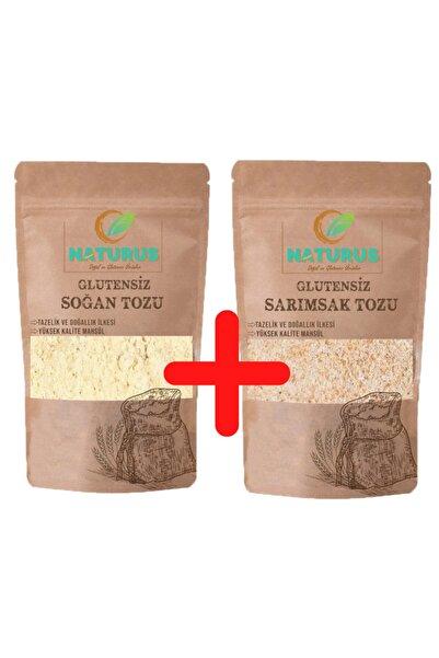 NATURUS Glutensiz Soğan + Sarımsak Tozu Fırsat Paketi 100 G