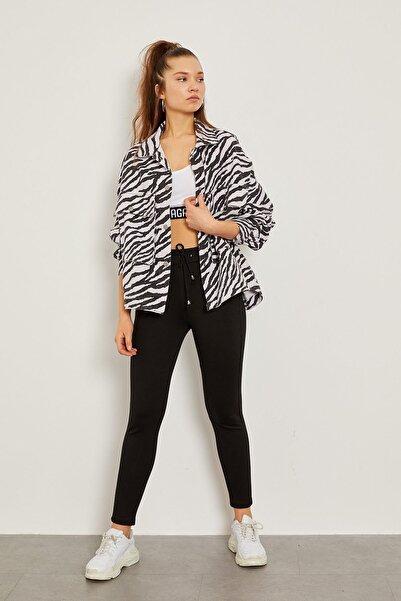 Arma Life Zebra Desen Gabardin Ceket