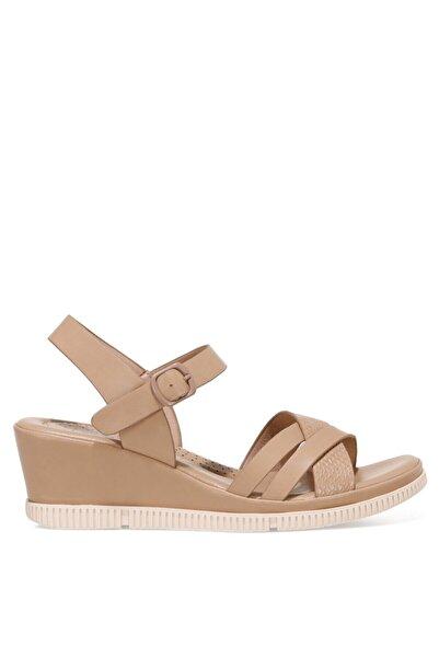İnci ACOREDDA 1FX Camel Kadın Dolgu Topuklu Sandalet 101027281