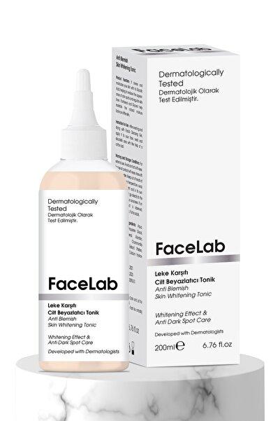 FaceLab Unisex Leke Karşıtı Cilt Beyazlatıcı Tonik 200 ml