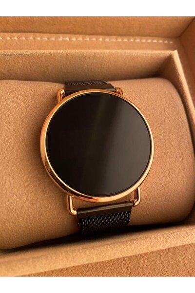 Gold Time Bileklik Hediyeli Unisex Dokunmatik Mıknatıslı Kol Saati