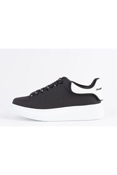 ALEXANDER MCQUEEN Erkek Siyah Sneakers Ayakkabı