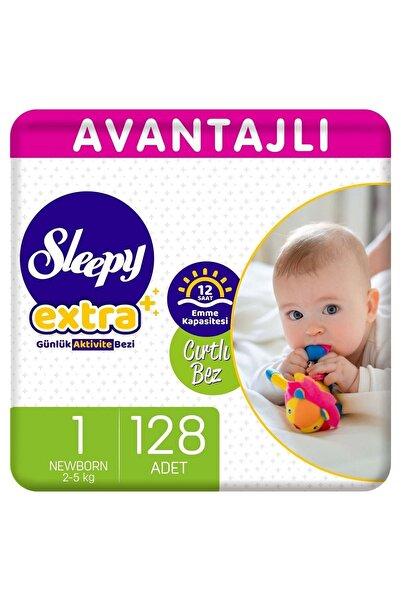Sleepy Extra Avantajlı Bebek Bezi 1 Numara Yenidoğan 128 Adet