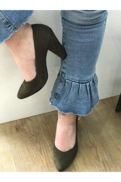 Hakan Kundura Kadın Kalın Topuklu Stiletto