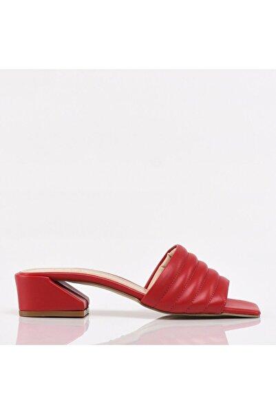 Hotiç Kırmızı Yaya Kadın Sandalet & Terlik
