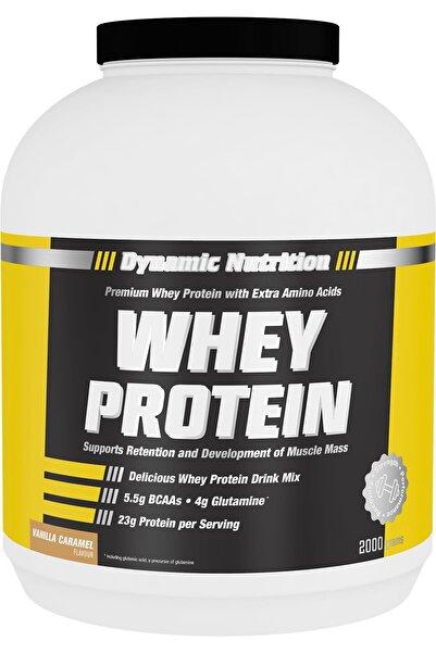 Dynamic Nutrition Whey Protein Tozu 2000 gr (vanilya % Karamel Aromalı)