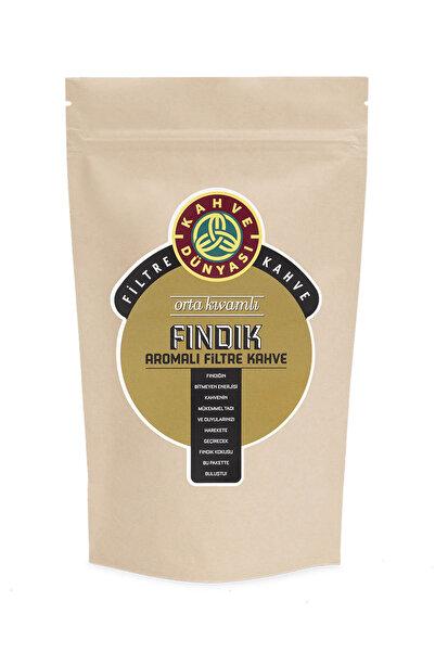 Kahve Dünyası Fındık Aromalı Filtre Kahve  Kağıt Filtre Çekim 250 gr