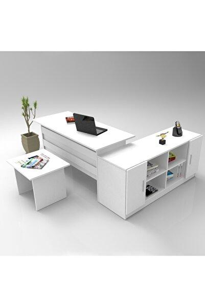 Yurudesign Vario Abf Ofis Büro Masa Takımı 3 Renk