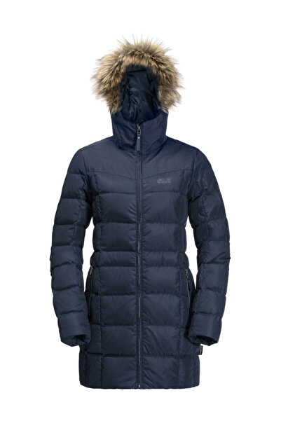 Jack Wolfskin Baffin Island Coat Rüzgar Geçirmez Outdoor Kadın Mont
