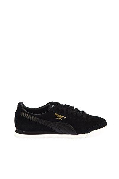 Puma Roma Gents Nbk Jr Siyah Unisex Deri Sneaker Ayakkabı 100352535