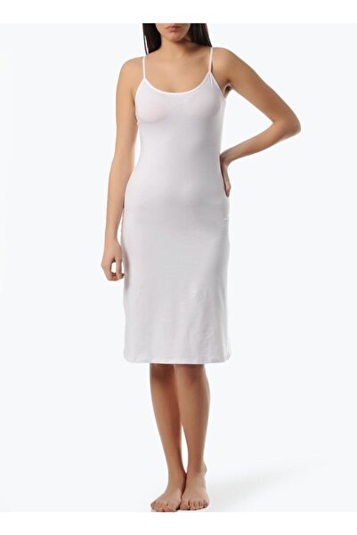 Kocabey Freshness Kadın Modal Beyaz Askılı Jüpon Kombinezon