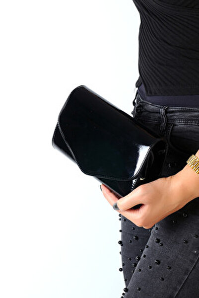 Siyah Kadın Portföy Çanta C0113-18