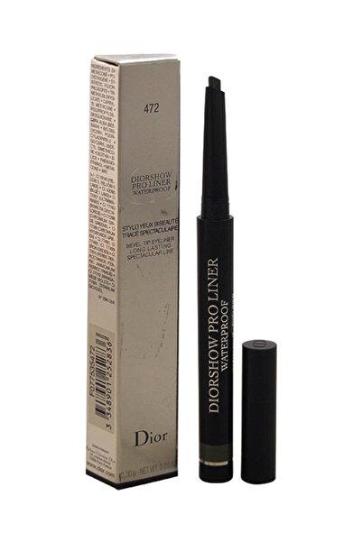 Dior Suya Dayanıklı Eyeliner - Diorshow Proliner Khaki 472 3348901252836