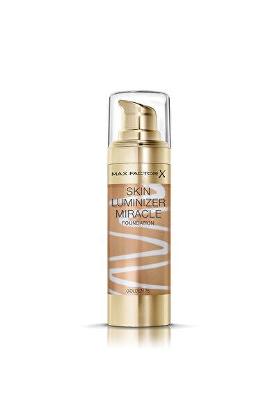 Max Factor Aydınlatıcı Etkili Fondöten - Skin Luminizer Miracle Foundation 75 Golden 30 ml 4084500159068