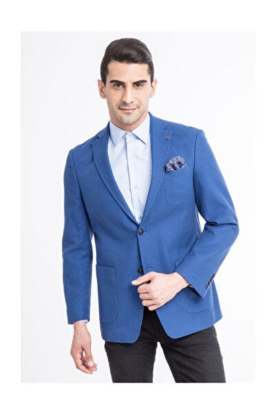 Kiğılı Erkek Mavi Ceket - 24333