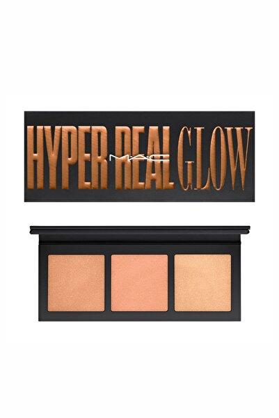 M.A.C Aydınlatıcı Paleti - Hyper Real Glow Highlighter Palette Shimmy Peach 773602531547