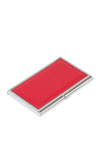 Tergan Hakiki Deri Kırmızı Unisex Kredi Kartlık S1KK00000195