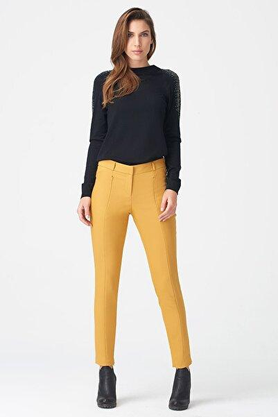 Naramaxx Kadın Hardal Pantolon 17K11113Y364