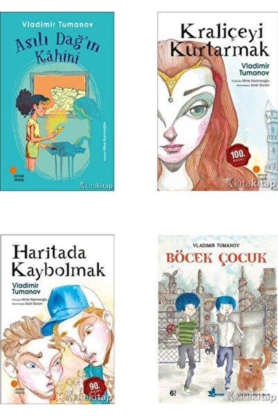 Günışığı Kitaplığı Asılı Dağ'ın Kahini-kraliçeyi Kurtarmak-haritada Kaybolmak-böcek Çocuk-vladimir Tumanov 4 Kitap Set