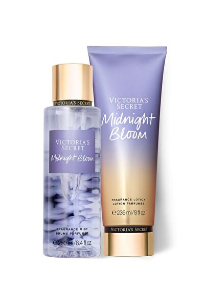 Victoria's Secret Midnight Bloom 2'li Vücut Seti Sprey&losyon