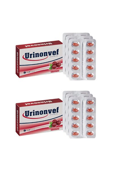 Urinonvef Cranberry Takviye Edici Gıda 2'li Set