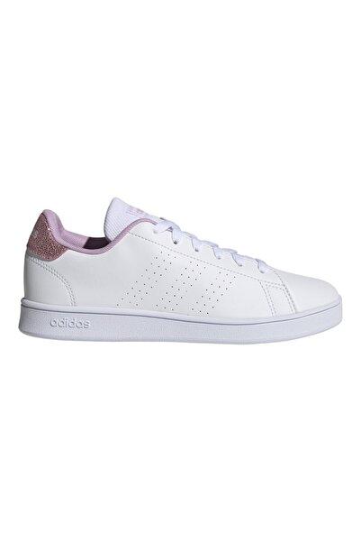 adidas Genç Spor Ayakkabı Beyaz Advantage FY8874