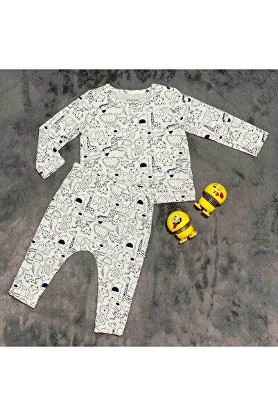 PİEROSBABY Pieros Baby 0004 Erkek Bebek 2'li Takım