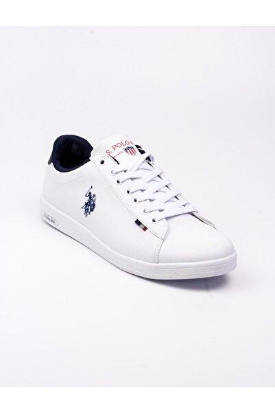 U.S. Polo Assn. Franco Sneakers Erkek Beyaz Ayakkabı