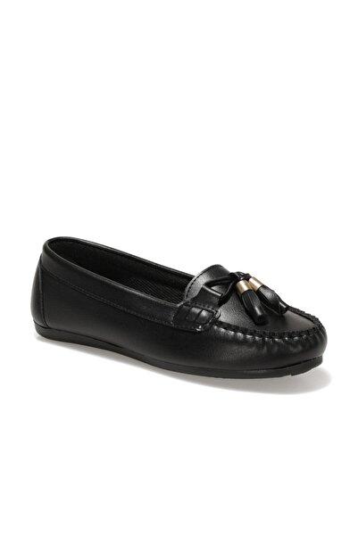 Miss F DS20053 1FX Siyah Kadın Loafer Ayakkabı 100910111