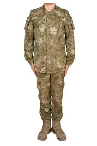 Silyon Askeri Giyim Yeni Tip Tsk Kamuflaj Takımı Pantolon Ve Gömlek Yeni Piyade Pantolon - Gömlek Takımı