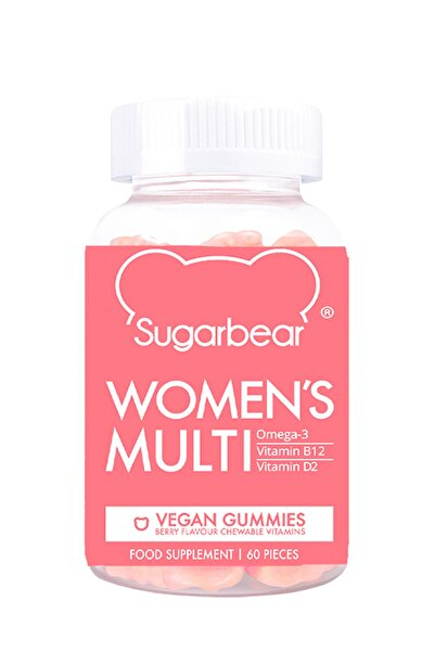 Sugarbear Sugarbear Women's Multi Vitamin Kadınlara Özel 60 Kapsül 850000320000