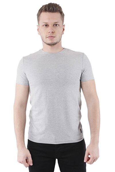 Canelia Gri Erkek Slimfit T-shirt