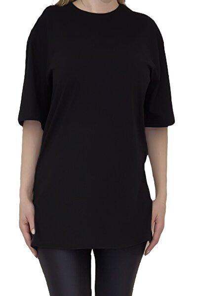 Tshigo Kadın Basic Oversize T-shirt