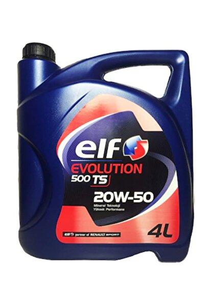 ELF Evolution 500ts 20w-50 4 Litre Motor Yağı