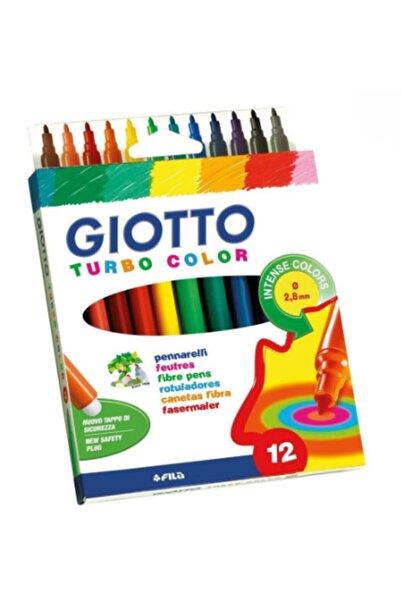 Giotto Turbo Color Keçeli Kalem 12'li 416000