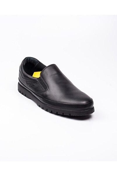 Dockers By Gerli Erkek Siyah Hakiki Deri Ortopedik Ayakkabı