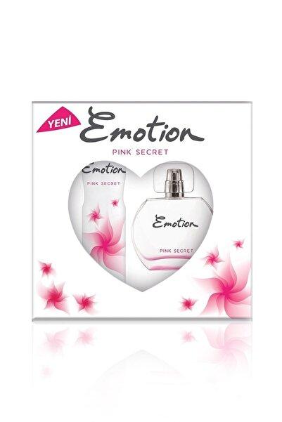 Emotion Pink Secret Parfüm + Deo Set