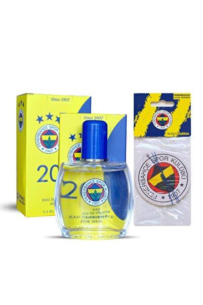 Fenerium Fenerbahçe Lisanslı Erkek Parfümü Edt 100 Ml + Fenerbahçe Oto Kokusu