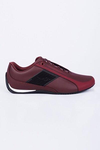 Lescon L-6045 Sailer Sneakers Bordo Erkek Spor Ayakkabı.