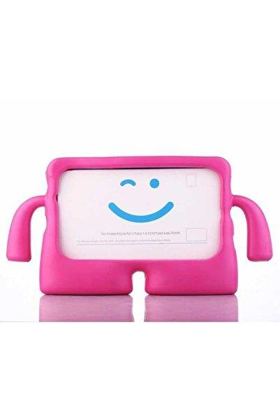 FiberAksesuar Samsung Galaxy Tab A 8 Sm-t290 Çocuklar İçin Standlı Tutacaklı Yumuşak Silikon Kılıf