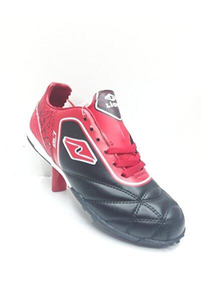 Lion Siyah Kırmızı Çocuk Halısaha Ayakkabı