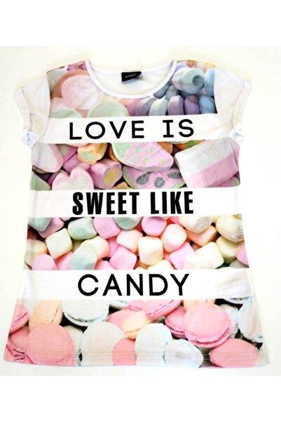 River Island Love Is Sweet Tişört
