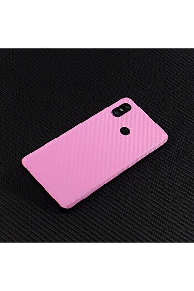 Ally Mobile Xiaomi Mi 8se Karbon Fiber Telefon Kaplaması Arka Sticker