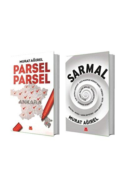 Kırmızı Kedi Yayınları Parsel Parsel + Sarmal - Murat Ağırel 2 Kitap Set